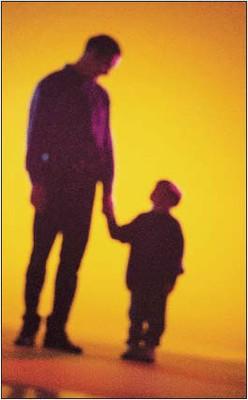 Parent holding child's hand 2